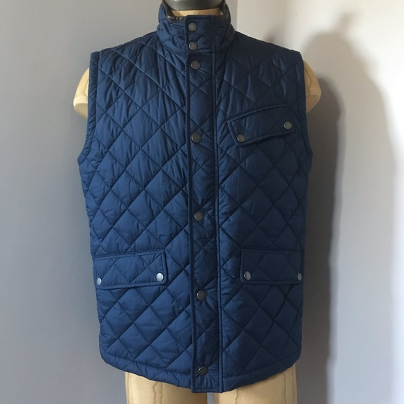Brooks Brothers Other - Brooks Brothers Navy Blue Puffer Vest Size Large a4ad24f8c